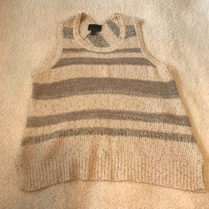 Knitted Tank Top.